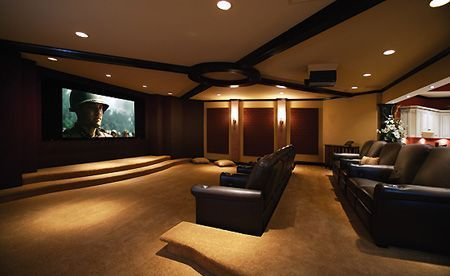 Basement Home Theater Ideas DIY Small Spaces Budget Medium Simple Basement Home Theatre Ideas Property