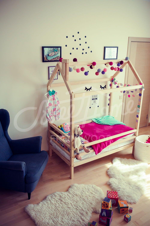 Children S Furniture Children Bed Childrens Furniture Etsy In 2020 House Beds Childrens Furniture Kid Beds