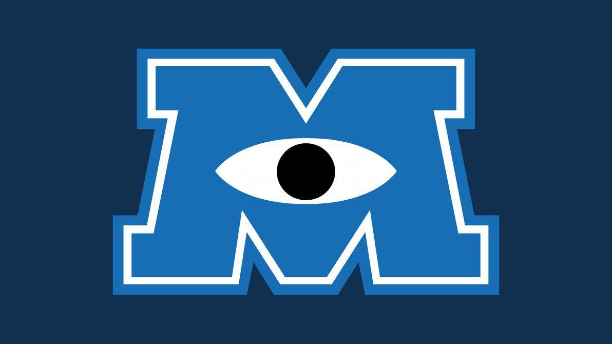 Monster university logo vector