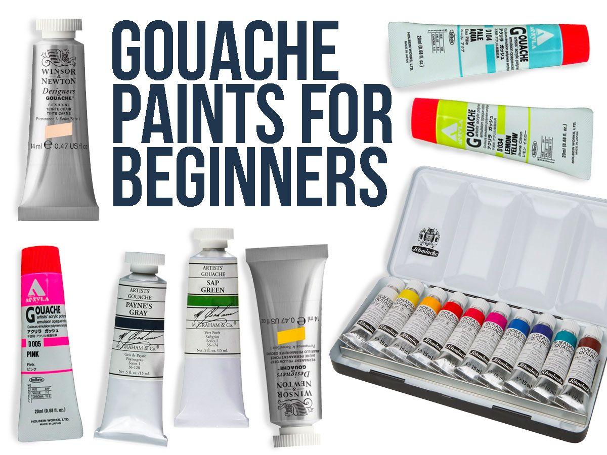 Best Gouache Paint Brands Gouache Basics Gouache Vs Watercolor