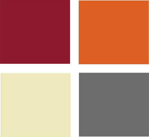 Example Palette This Potential Features Warm Analogous Colors Plus A Grounding Neutral