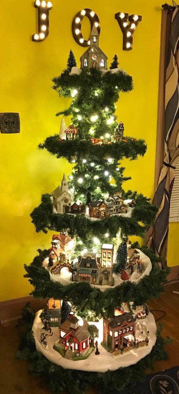 Christmas Village Display Tree Plans.Christmas Village Display Tree Plans Christmas