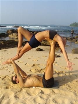 want to try  couples yoga poses acro yoga poses