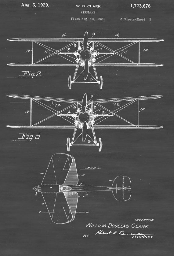 Biplane patent print vintage airplane airplane blueprint biplane patent print vintage airplane airplane blueprint airplane art pilot gift aircraft decor airplane poster biplane patent by patentsasprints malvernweather Gallery