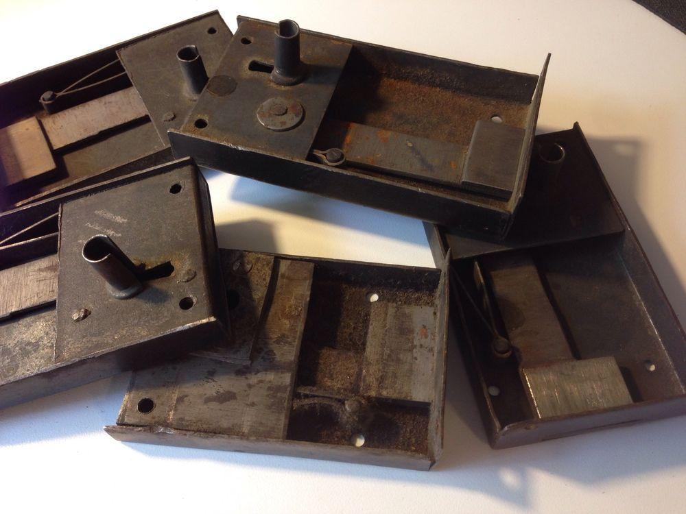 5 Antique Desk Drawer Locks With Key - 5 Antique Desk Drawer Locks With Key Antique Desk, Drawers And Desks