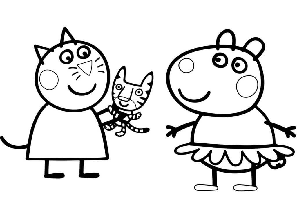 Printable Peppa Pig Coloring Pages Peppa Pig Coloring Pages Peppa Pig Colouring Coloring Books
