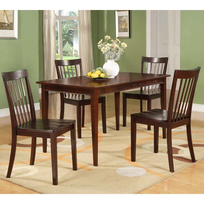 Cherry Rectangular Wooden Dining Table