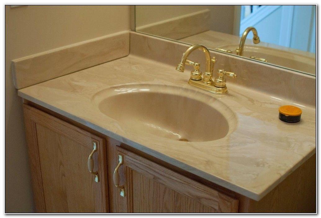 . Bathroom Sink Countertop Combo Home Design Ideas
