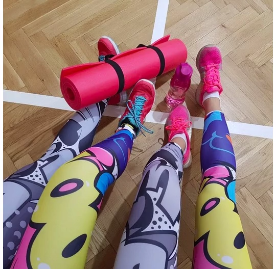 😍Get 50% OFF😍 Color Digital Fun Leggings🤩 Limited Quantities! Don't Miss It!!   Shop Now @loomrackofficial . . . #touchesport #workout #fitness #crossfit #touche #leggings #sportswear #yoga #sweet #shoppingaddict #onlineshopping #currentlywearing #loomrackofficial