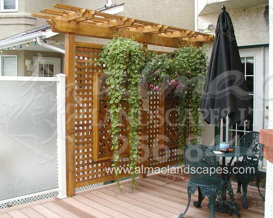 Outdoor Spaces · Privacy Patio Screen ...