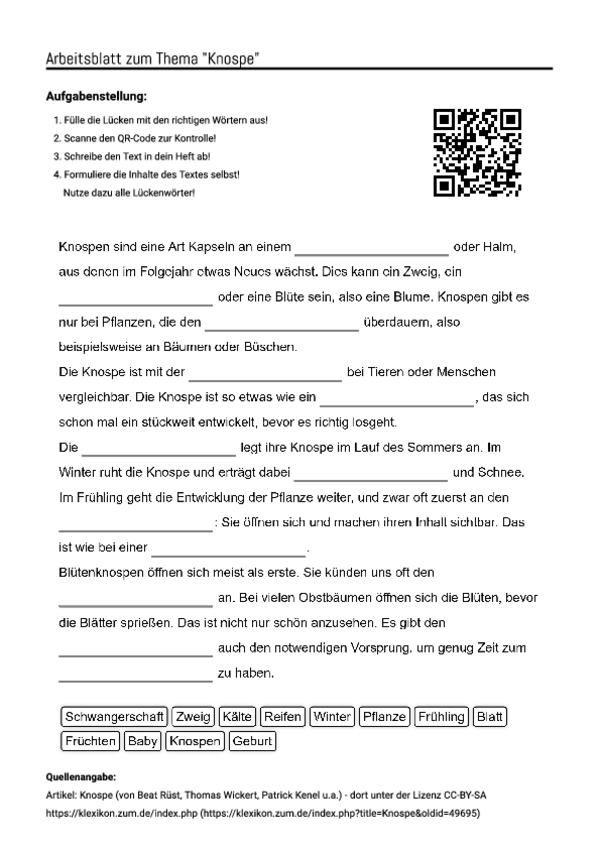 Ungewöhnlich Cyclo Arbeitsblatt Galerie - Arbeitsblätter für ...