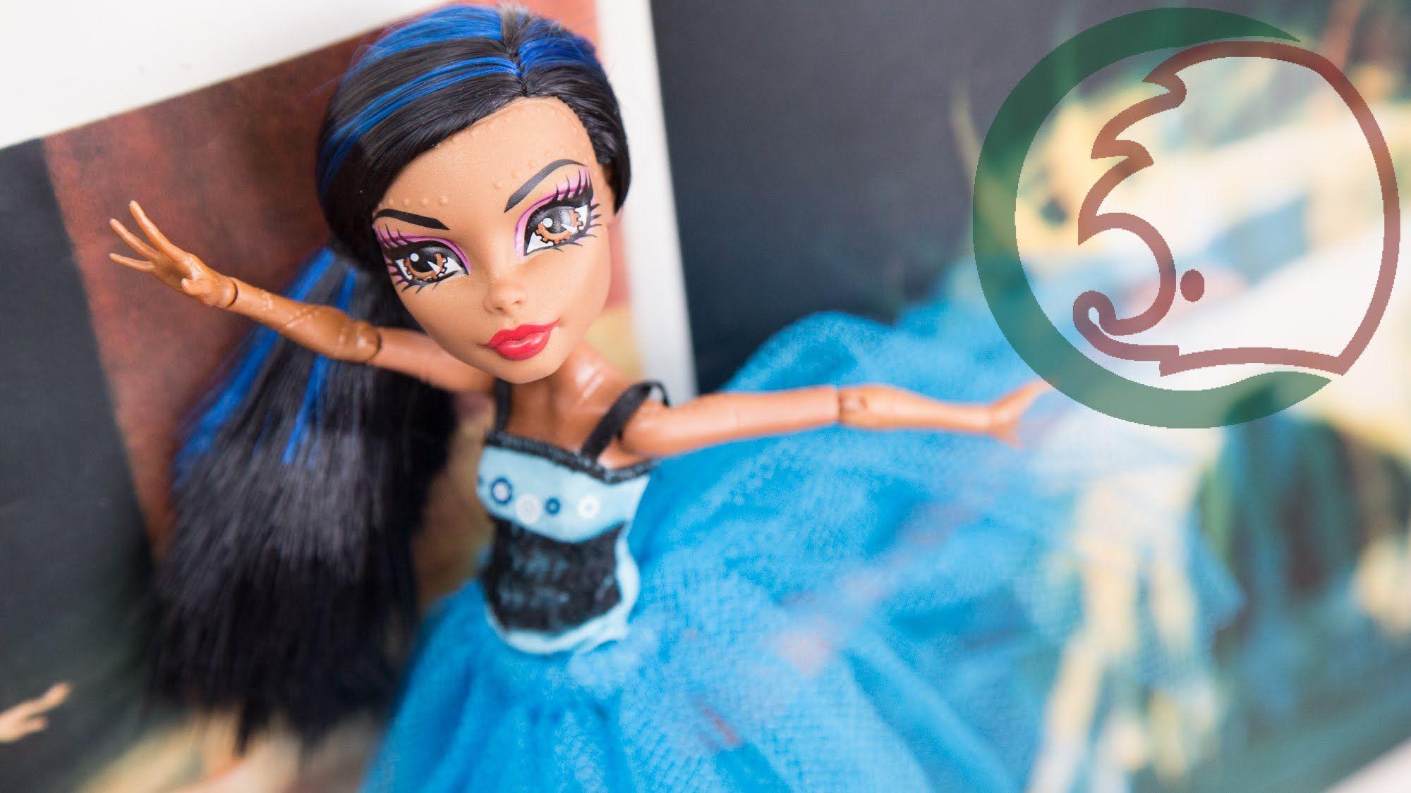 Как сделать балетную пачку. How to make a tutu for dolls.