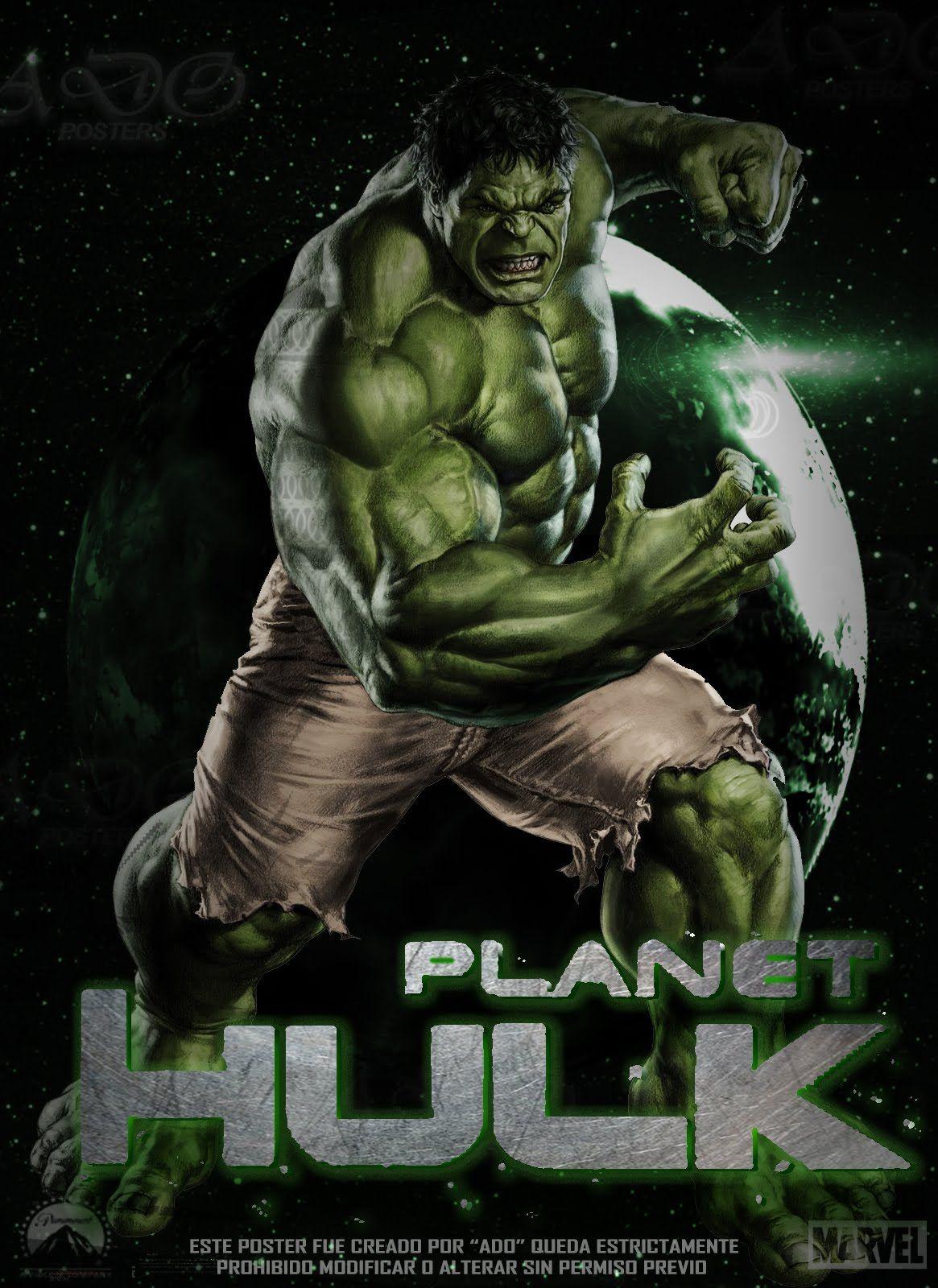 #Hulk #Fan #Art. (Hulk Avengers Movie Poster) By: Ten410 ...