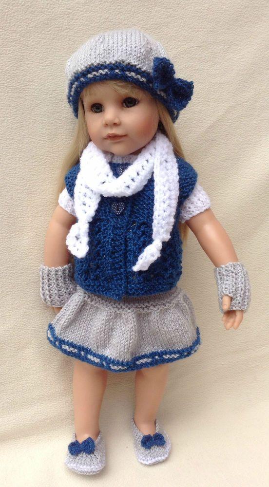 Vistoso Muñeca Crochet Ropa Patrones De 12 Pulgadas Inspiración ...