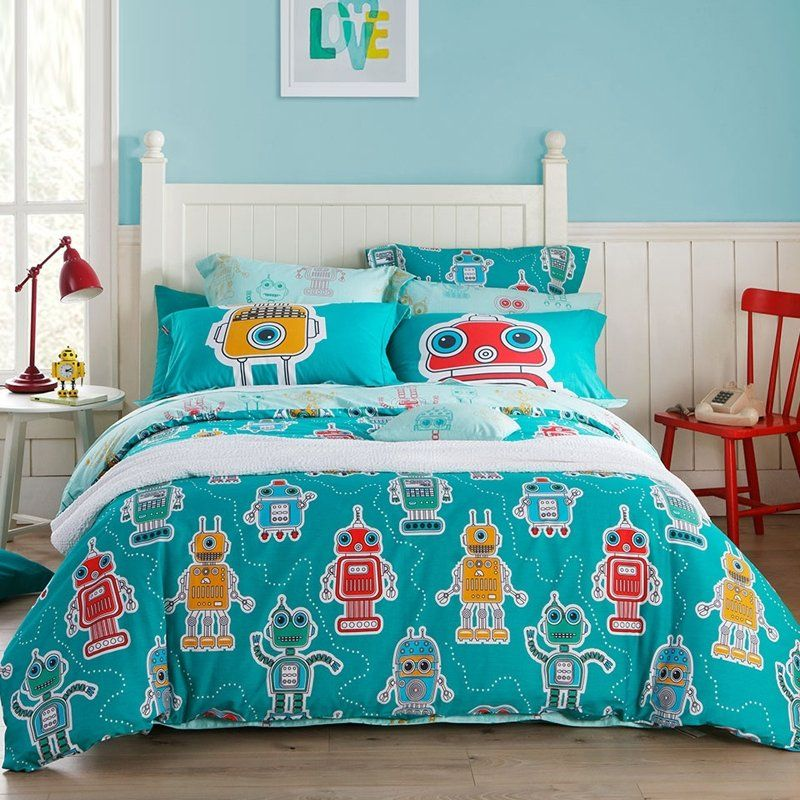 Turquoise Bedding Sets, Fun Queen Size Bedding