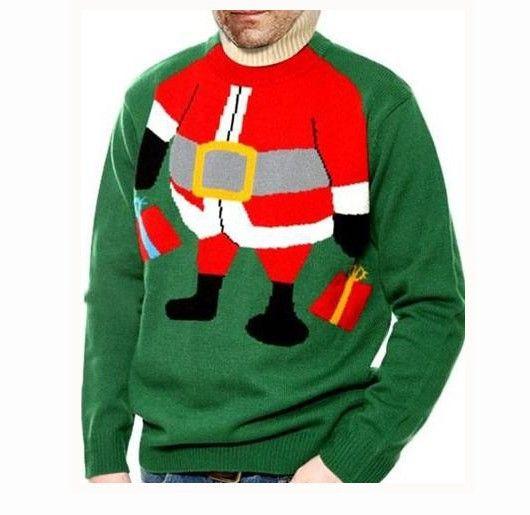 santa body sweater - Google Search
