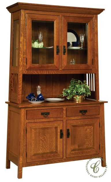 Garcia Mission Style China Cabinet in 2020 | China cabinet ...