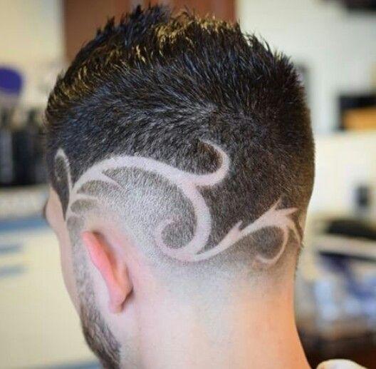 Cortes de cabello hombres con figuras