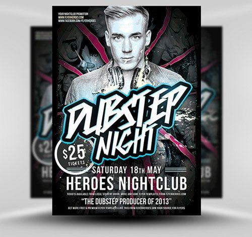 Free Photoshop Psd Club Party Poster And Flyer Templates