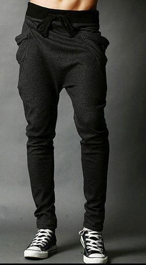 81286571934d9 8 Colors 2015 Unique Pocket Mens Joggers Cargo Men Pants Sweatpants Harem  Pants Men Jogger Pants