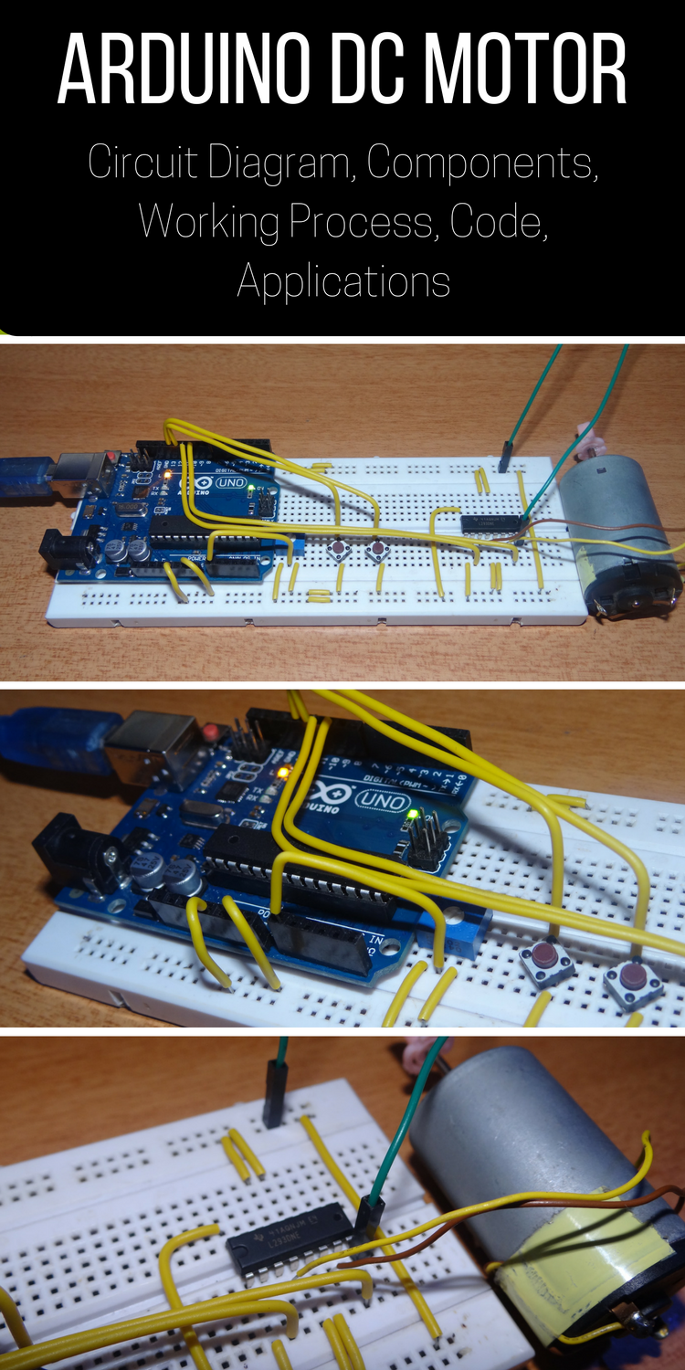 Dc Motor Control With Arduino Projects And Fotos Circuit Diagram Of Controller