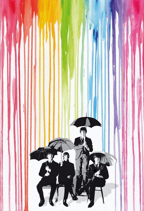 Illustrations by 2ToastDesign Beatles art, Pop art