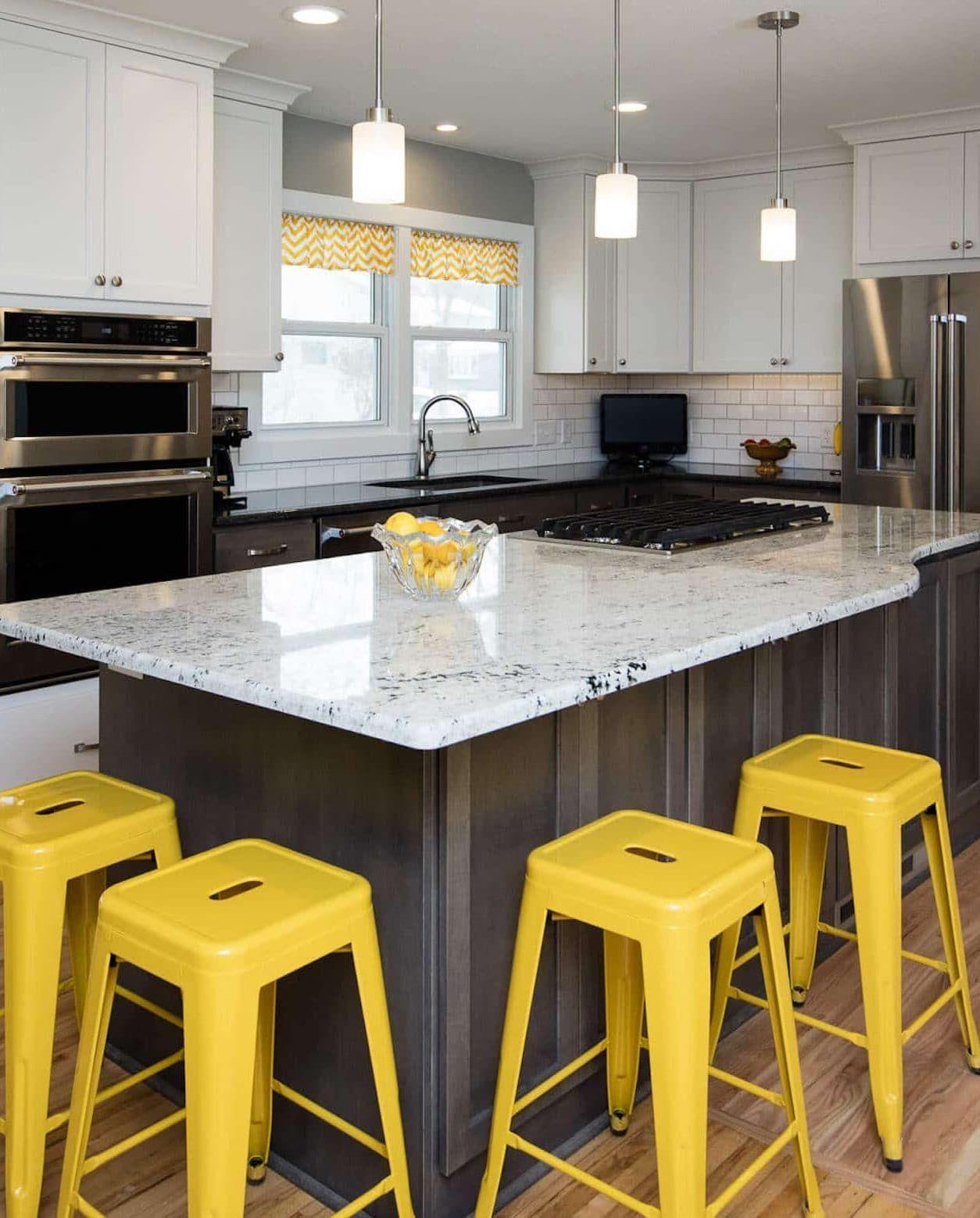 21 Prodigious Kitchen Countertops Granite That Will Inspire