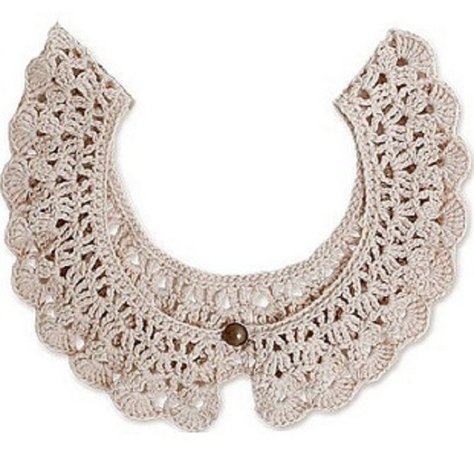 9 Easy Crocheted Collar Patterns Free Do It Yourself Crafts