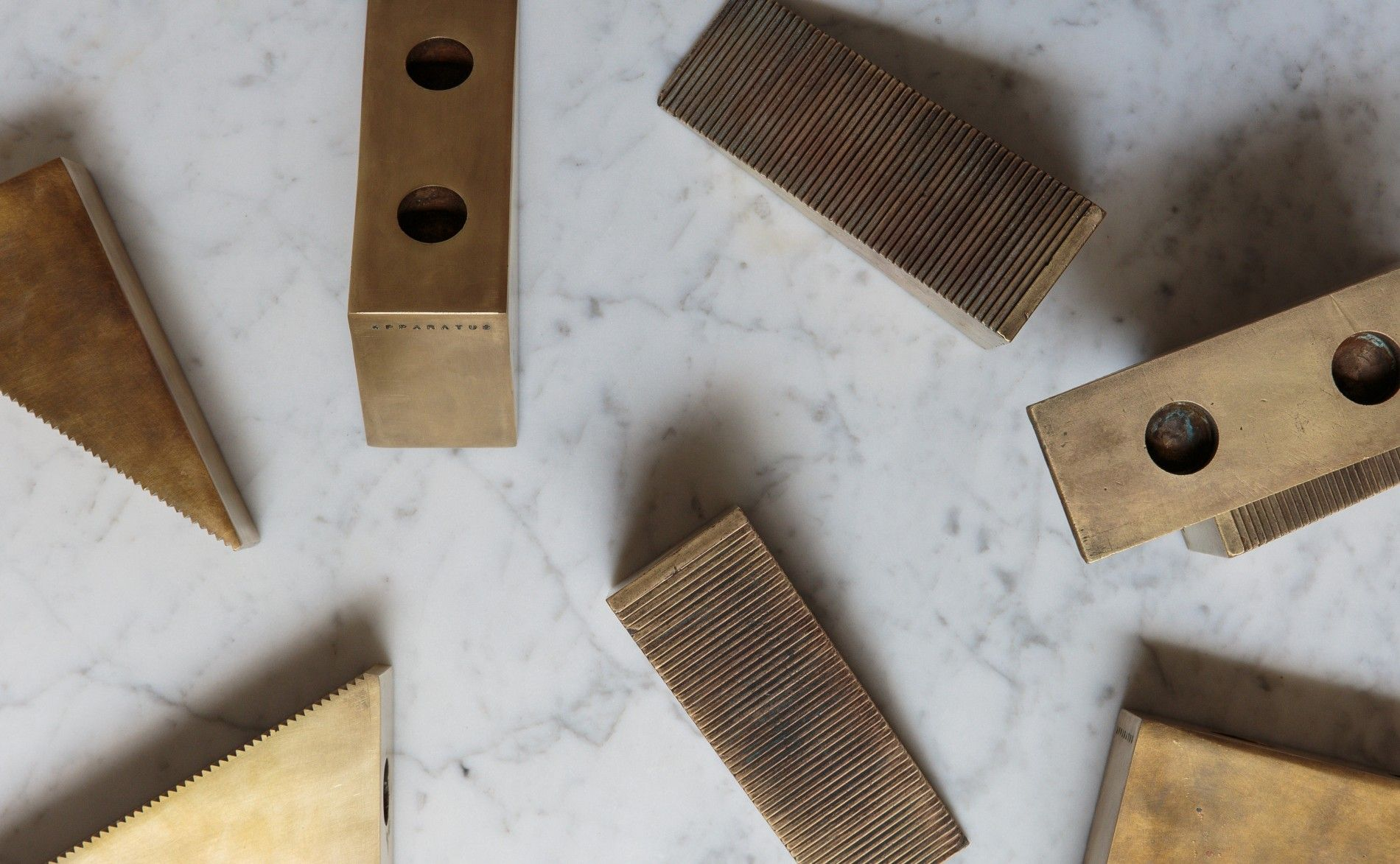 Candle blocks apparatus for the home pinterest tabletop