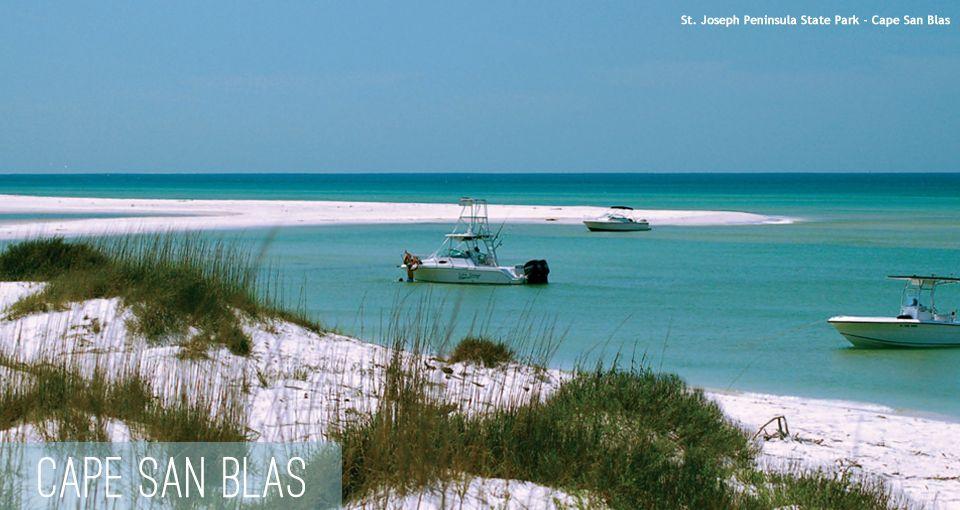 Cape San Blas Beach Vacation Spots