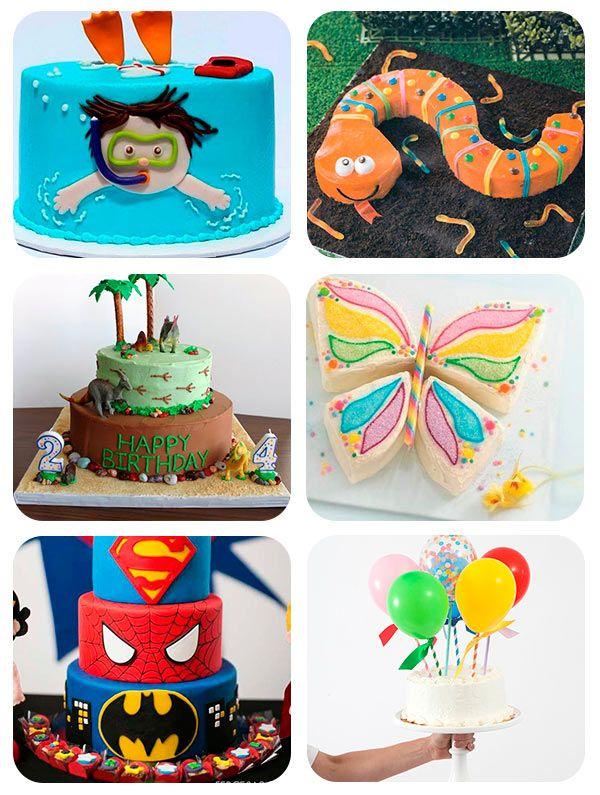 45 tartas de cumpleaos originales Fiestas Infantiles Pinterest