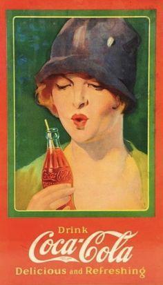 Artdecoquenalbertini Deco Coca Cola Ad