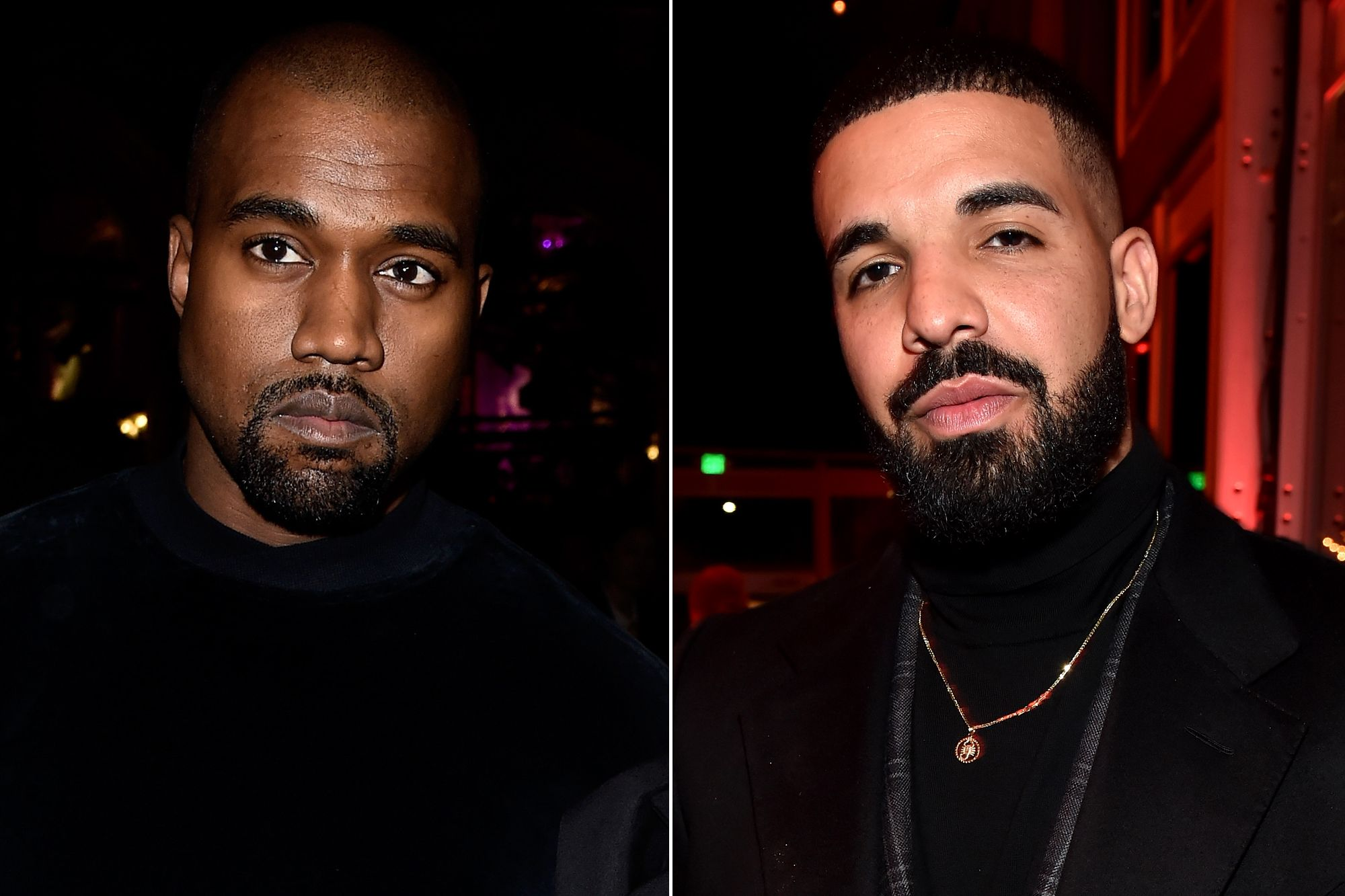 Kanye West Lashes Out at Drake for Following His Wife on