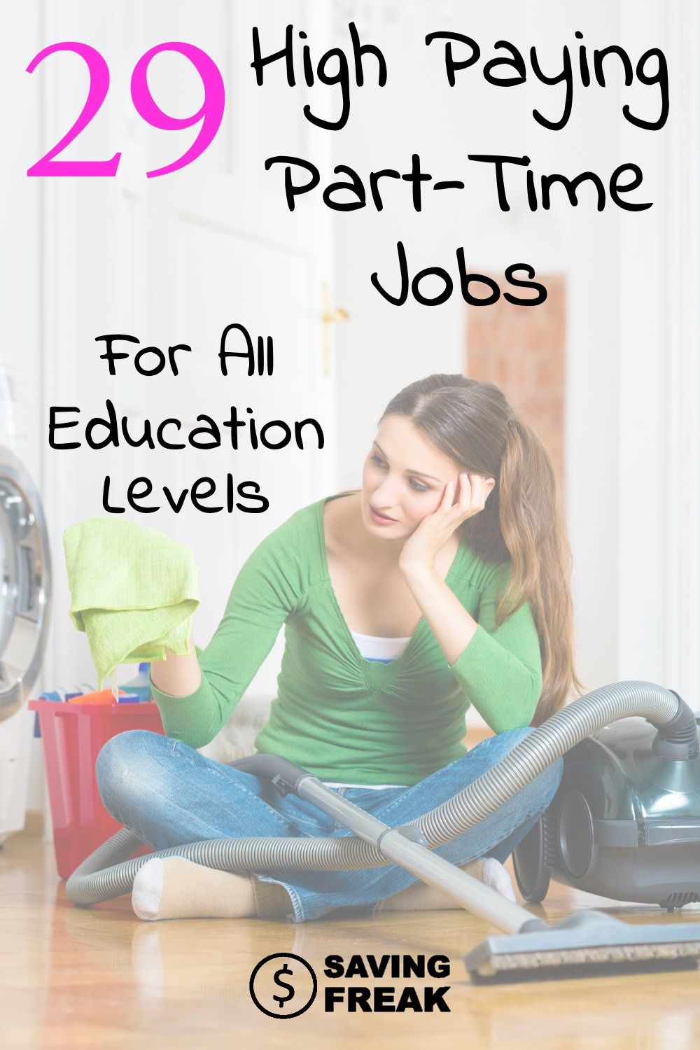 Highest Paying Part Time Jobs All Education Levels