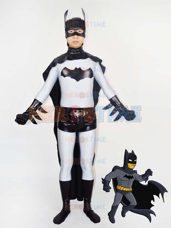 Classic Grey u0026 Black Batman Superhero Costume & Classic Grey u0026 Black Batman Superhero Costume | The new design ...