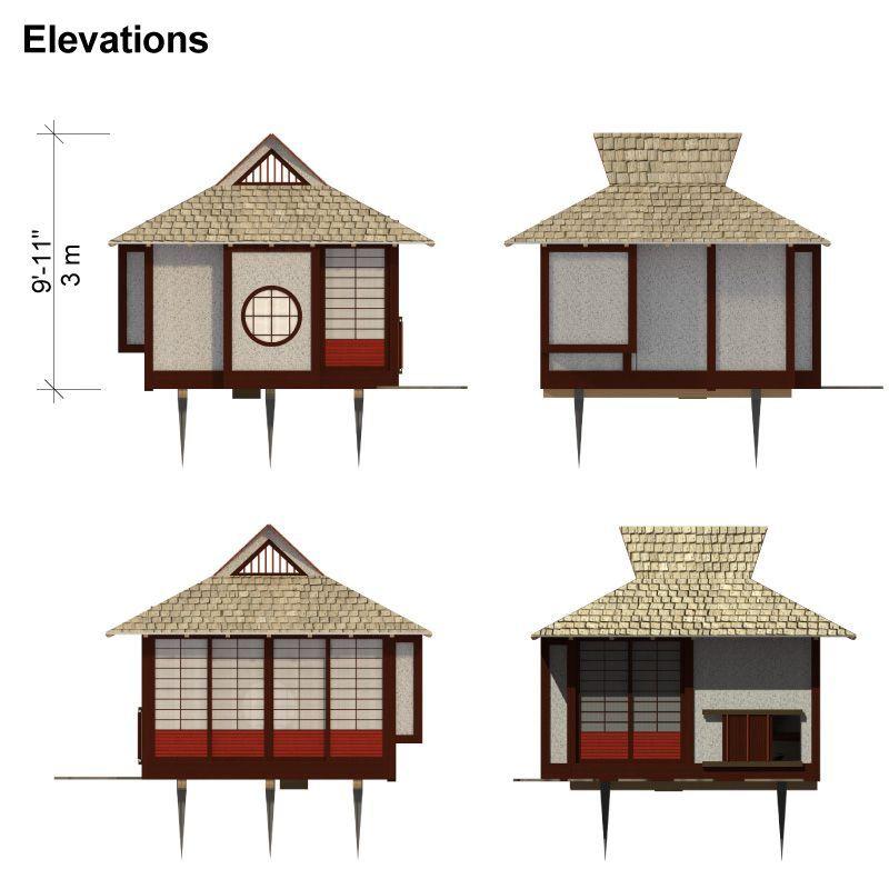 Japanese Tea House Plans