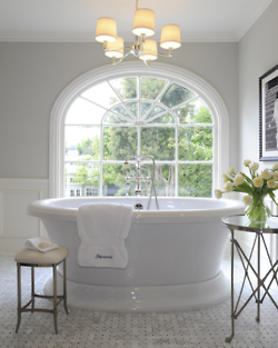 A round tub.  Perfect for the dream home...