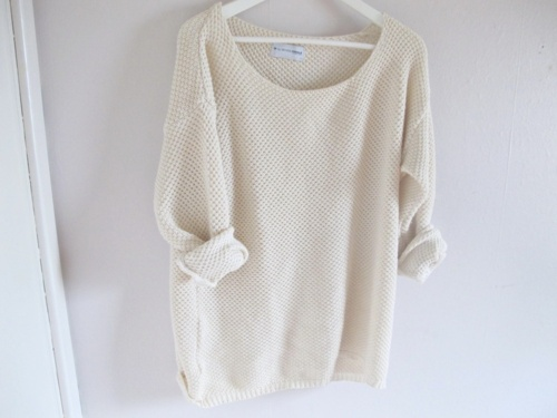summer sweater.