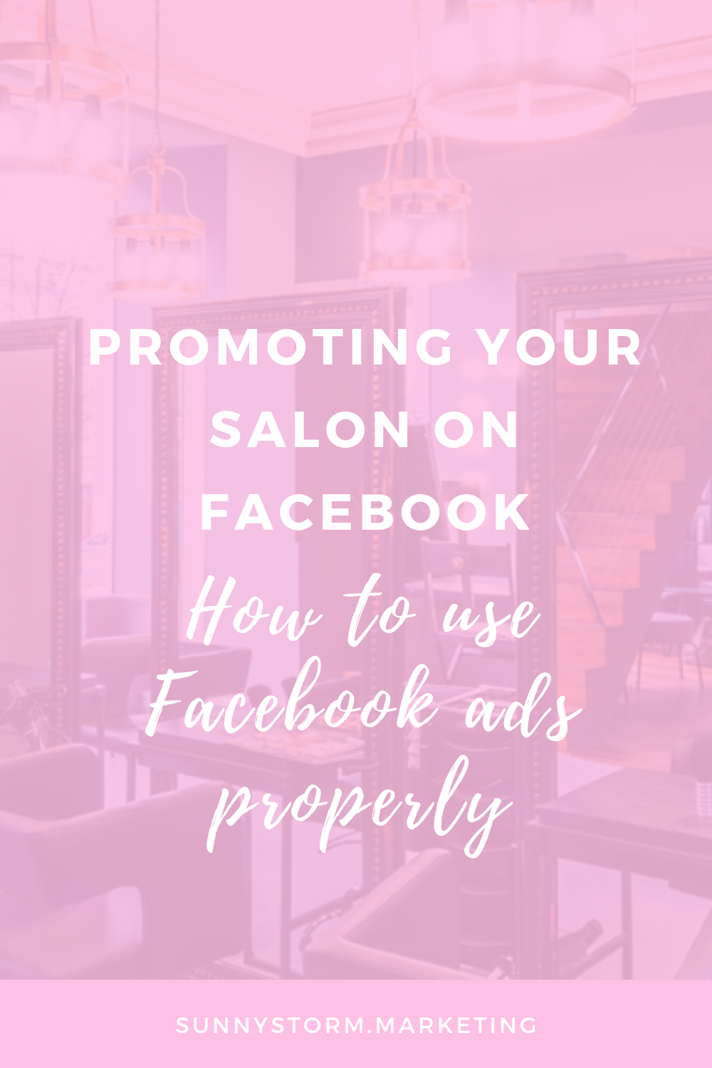 Salon promotion ideas: Facebook ads for bringing in more salon