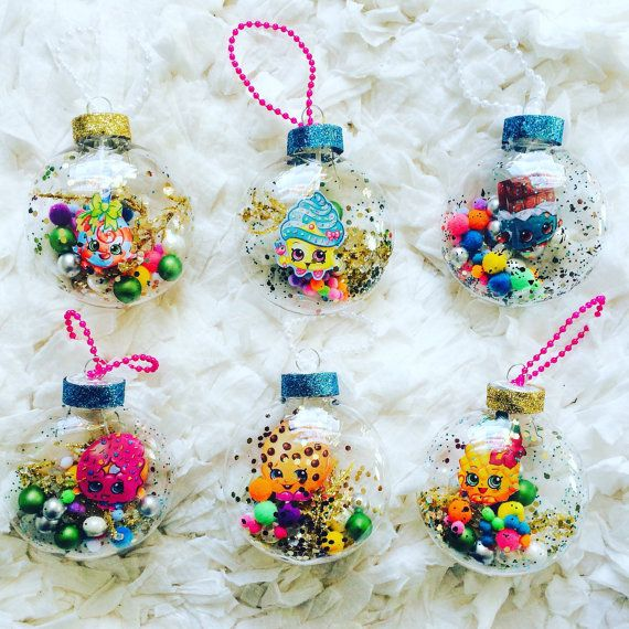 Shopkins Ornament//Shopkin Christmas Ornament by BloominDecor ...