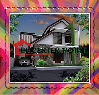 jasa desain rumah di tarakan fasad rumah minimalis dua