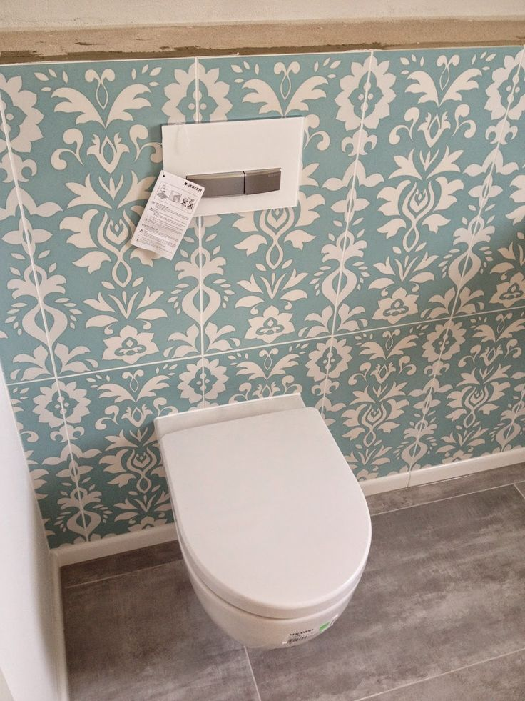Retro Gäste WC Aufpeppen
