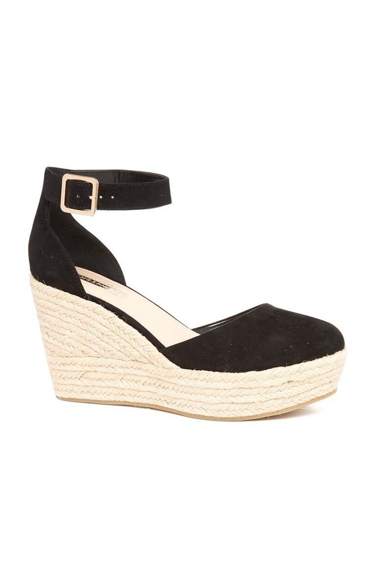 280b70d324 Primark - Black Closed Toe Wedge Heel | I am and I will in 2019 ...