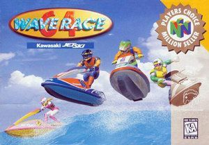 Complete Wave Race 64 Players Choice - N64