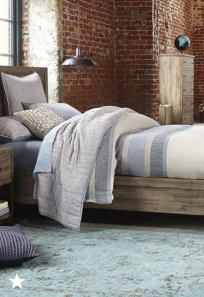 Ember 3-Piece Queen Bedroom Furniture Set with Dresser ...