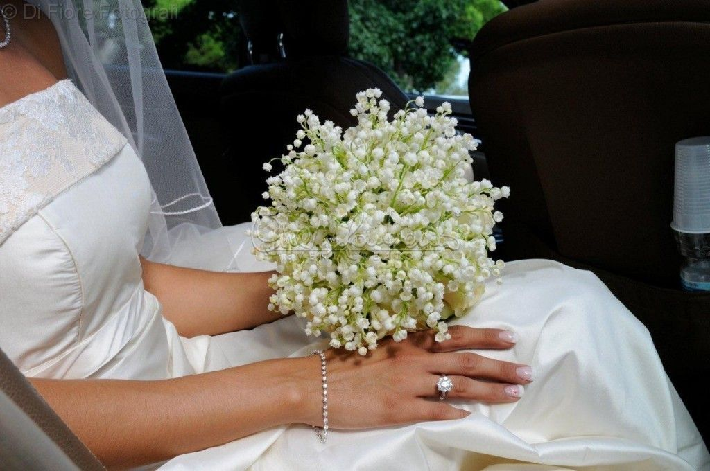 Bouquet Da Sposa Con Mughetti.Pin Su Wedding