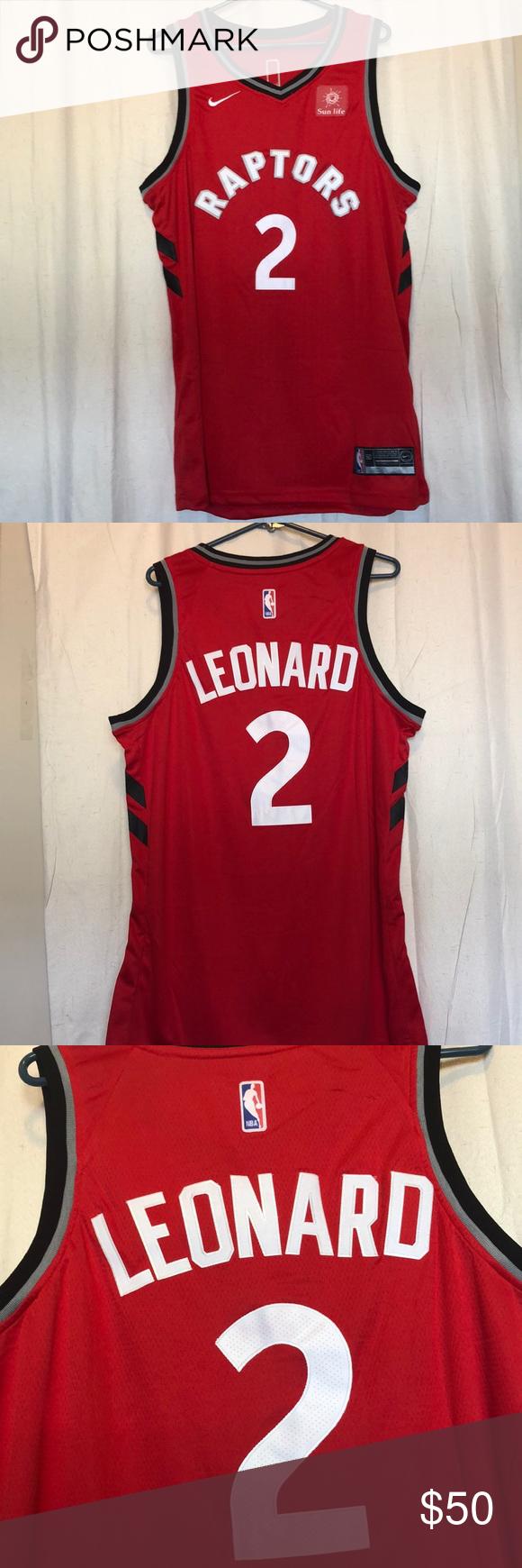 low priced 52a1d c9ba2 NWT Kawhi Leonard Nike Swingman Raptors Jersey🔥 Kawhi ...