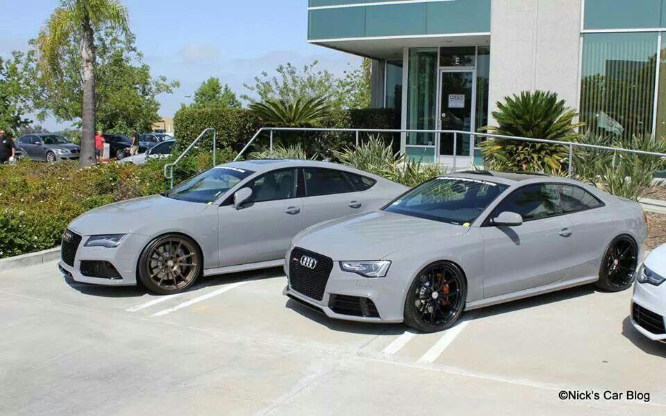 Nardo Gray Nice Audi Mine Theirs Audi Rs7 Nardo Grey Cars