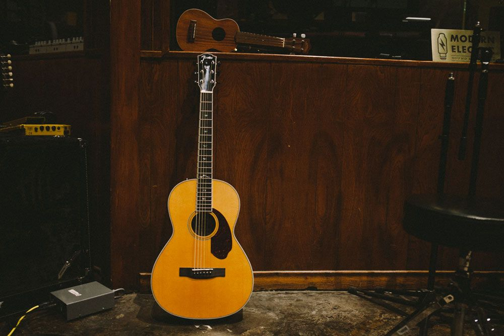 Must-have for mornings... #fenderparamount #acoustics #guitars #fender