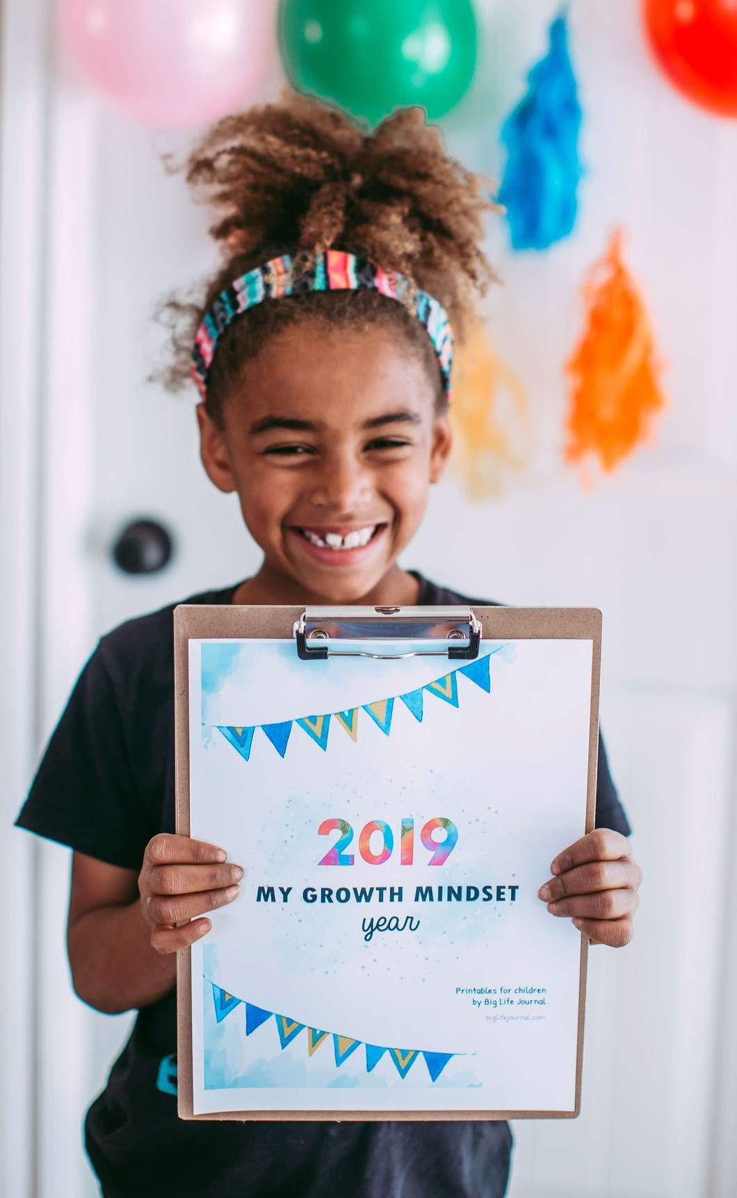 New Year Goal Setting Kit Ages 4 10